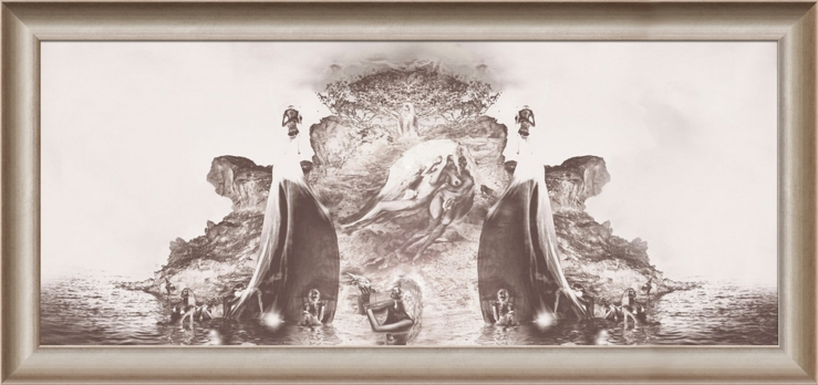 BIRTH OF VENUS  by Emir Sergo  -  large Gallery print  on fine-art photo paper  behind Acrylglas framed